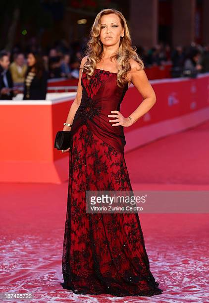 Vera Gemma attends the 'Manto Acuifero' Premiere And 'Giuliano Gemma Un Italiano Nel Mondo' Premiere during The 8th Rome Film Festival at Auditorium...