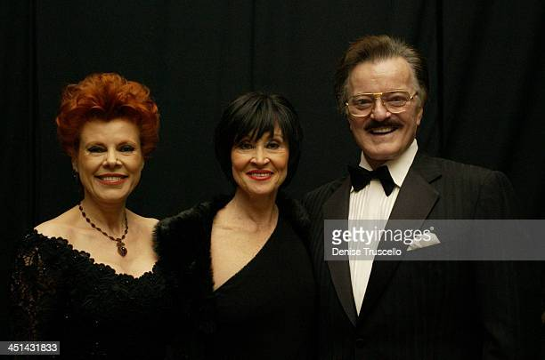 Vera Goulet Chita Rivera and Robert Goulet at The Black and White Ball 2002 honoring Broadway legend Chita Rivera who was named Woman of the Year by...