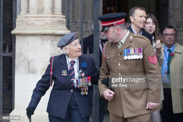 Vera Hay who was a nursing sister in the Queen Alexandra's Imperial Military Nursing Service and landed on Gold Beach shortly after DDay leaves a...