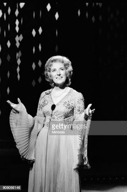 Vera Lynn at rehearsals for 'Christmas Night With The Stars' at Shepherds Bush to be screened on BBC 1 on Christmas Day 6th December 1971