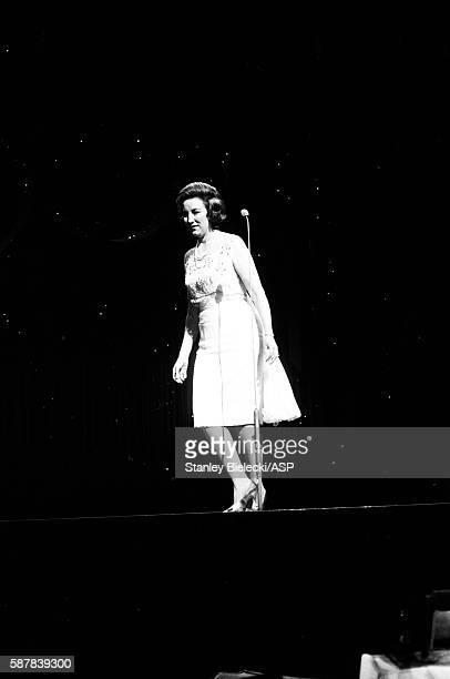 Vera Lynn performs at a variety performance London circa 1965 Line up includes Bruce Foryth Helen Shapiro and Adam Faith