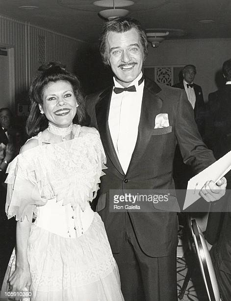 Vera Novak and Robert Goulet during 38th Annual Tony Awards Party at Waldorf Astoria Hotel in New York City New York United States