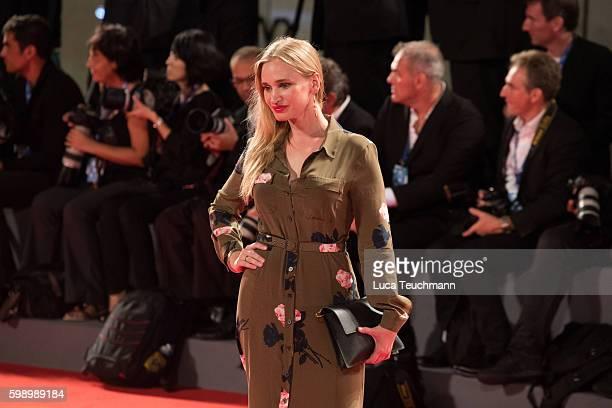 Vera Vitali attends the premiere of 'Brimstone' during the 73rd Venice Film Festival at Sala Grande on September 3 2016 in Venice Italy