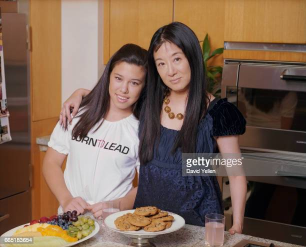 Vera Wang and Daughter Cecilia Becker