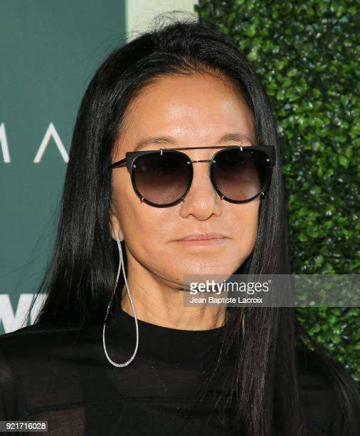 Vera Wang arrives to the Council of Fashion Designers of America luncheon held at Chateau Marmont on February 20 2018 in Los Angeles California