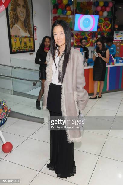 Vera Wang attends as Dylan Lauren celebrates the Sweet 16 of Dylan's Candy Bar on October 17 2017 in New York City