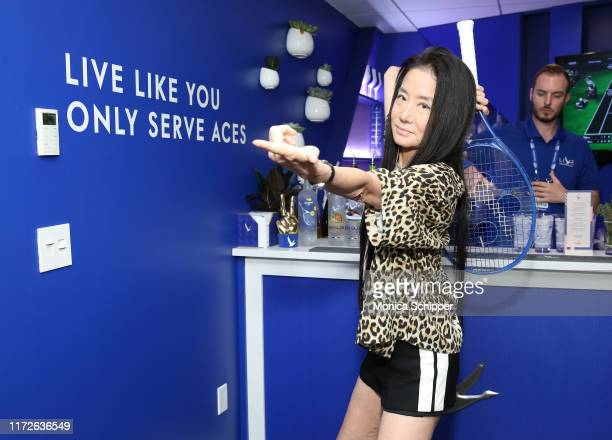 Vera Wang attends as Grey Goose toasts to the 2019 US Open at Arthur Ashe Stadium on September 05 2019 in New York City