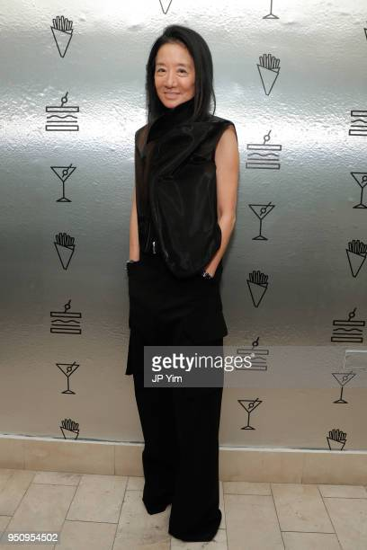 Vera Wang attends Barneys New York and Chef Mark Stausman celebration of The Freds At Barneys New York Cookbook on April 24 2018 in New York City