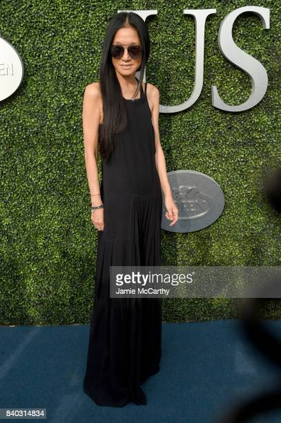 Vera Wang attends the 17th Annual USTA Foundation Opening Night Gala at USTA Billie Jean King National Tennis Center on August 28 2017 in the Queens...