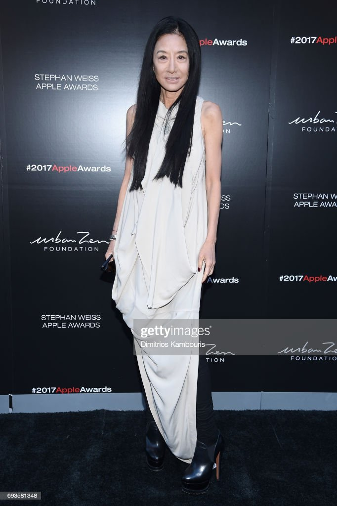 Vera Wang attends the 2017 Stephan Weiss Apple Awards on June 7, 2017 in New York City.