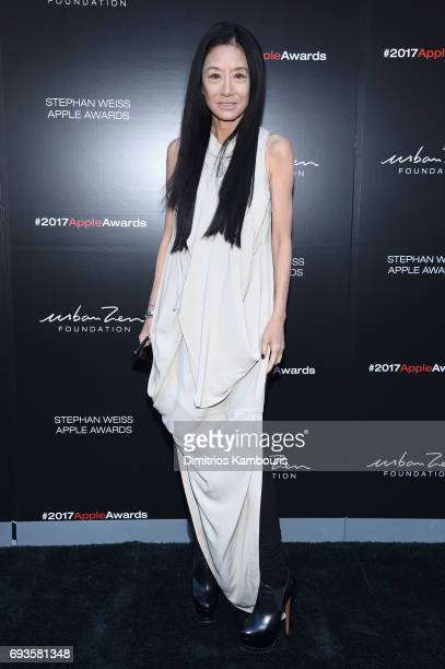 Vera Wang attends the 2017 Stephan Weiss Apple Awards on June 7 2017 in New York City