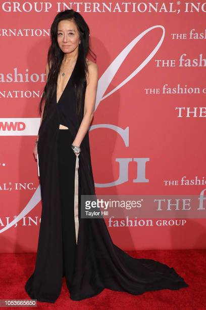 Vera Wang attends the 2018 Fashion Group International Night of Stars Gala at Cipriani Wall Street on October 25 2018 in New York City