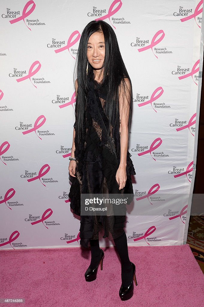 Vera Wang attends The Breast Cancer Research Foundation 2014 Hot Pink Party at The Waldorf=Astoria on April 28, 2014 in New York City.