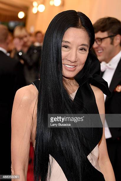 """Vera Wang attends the """"Charles James: Beyond Fashion"""" Costume Institute Gala at the Metropolitan Museum of Art on May 5, 2014 in New York City."""