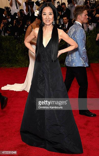 Vera Wang attends the China Through The Looking Glass Costume Institute Benefit Gala at the Metropolitan Museum of Art on May 4 2015 in New York City