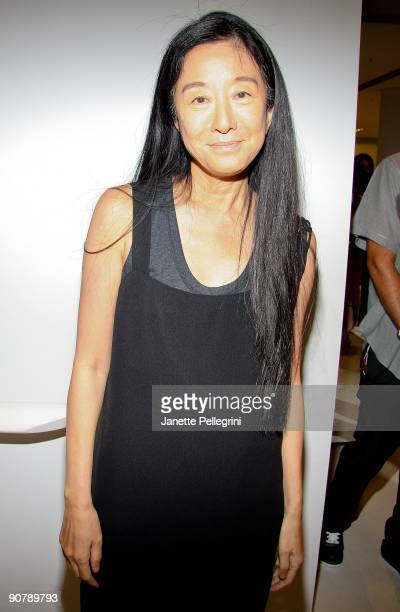 Vera Wang attends Vera Wang Spring 2010 during MercedesBenz Fashion Week at 158 Mercer Street on September 15 2009 in New York City