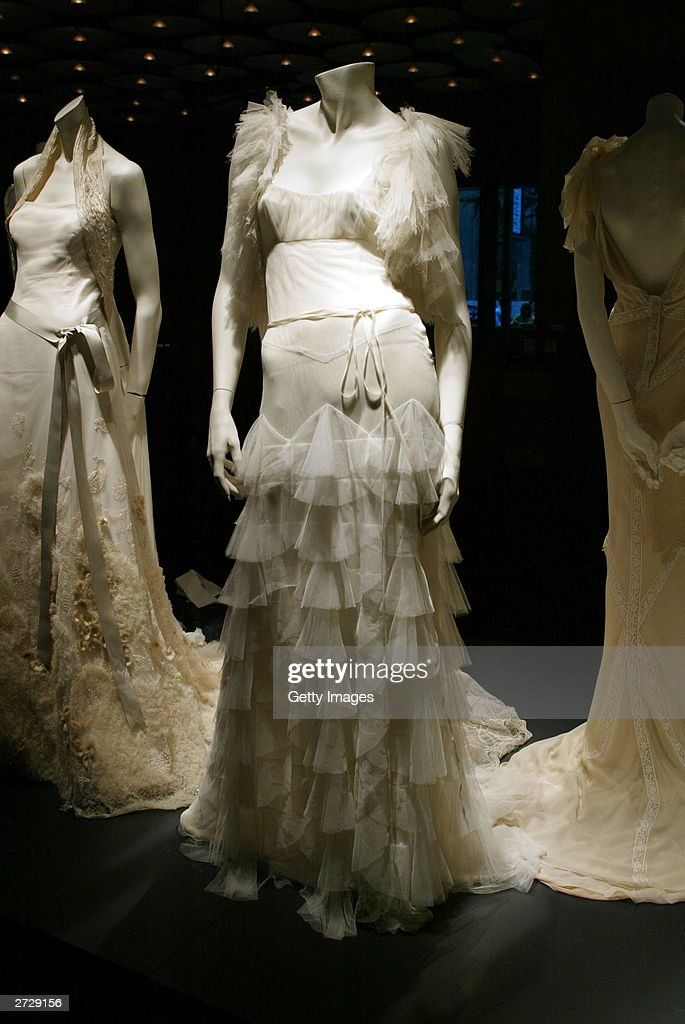 A Vera Wang Bridal Exhibit At The Whitney Museum Of American Art As Part
