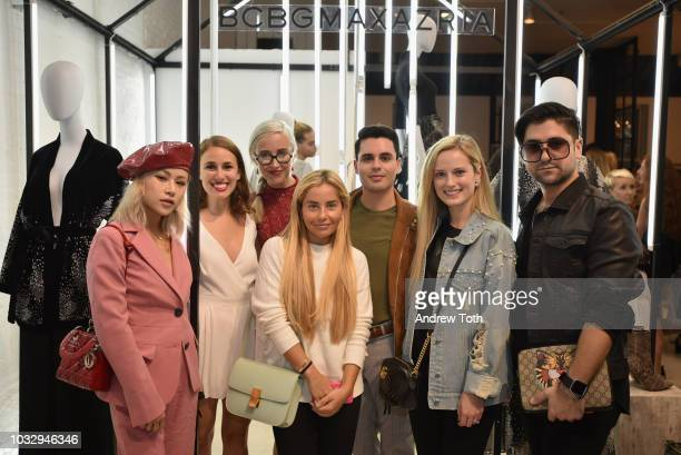 Vera Wang guest Sterling McDavid Marisa Hochberg Alfonso Zamarripa Madeline Yanni and guest attend the celebration of the BCBGMAXAZRIA SoHo store...
