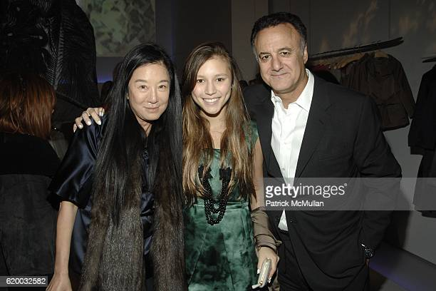 Vera Wang, Josephine Becker and Arthur Becker attend VERA WANG Mercer Street Store Opening at 158 Mercer Street on December 4, 2008 in New York City.