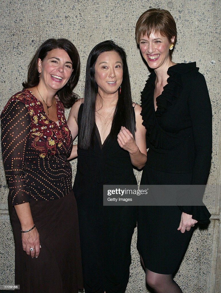 Vera Wang C Poses With Modern Bride Editor In Chief Antonia Van