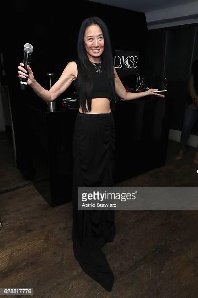 Vera Wang speaks at the Vera Wang LOVE holiday cocktail soiree at Betony on December 7, 2016 in New York City.