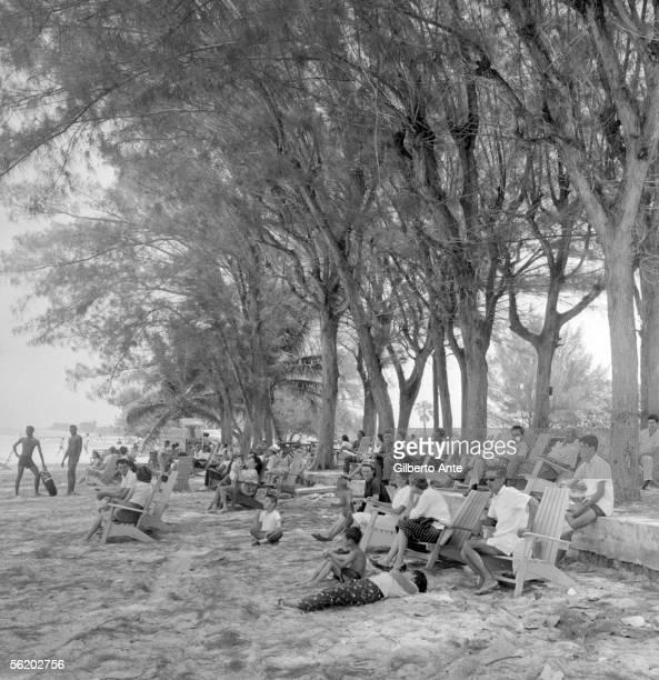 Veradero beach about 1960
