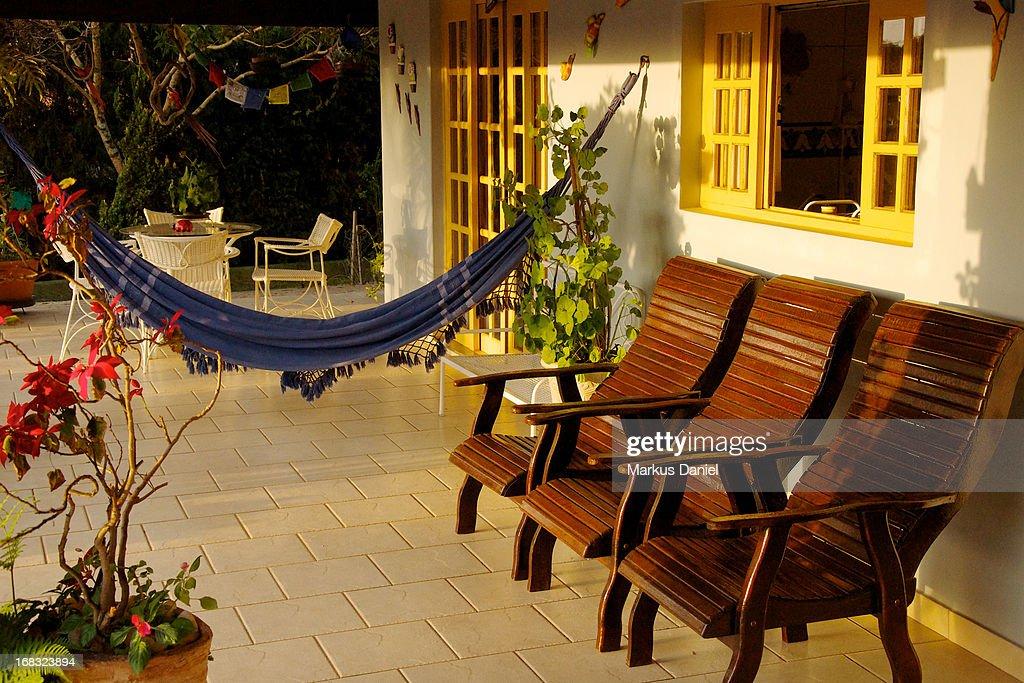 Veranda Country House Brazil : Stock Photo