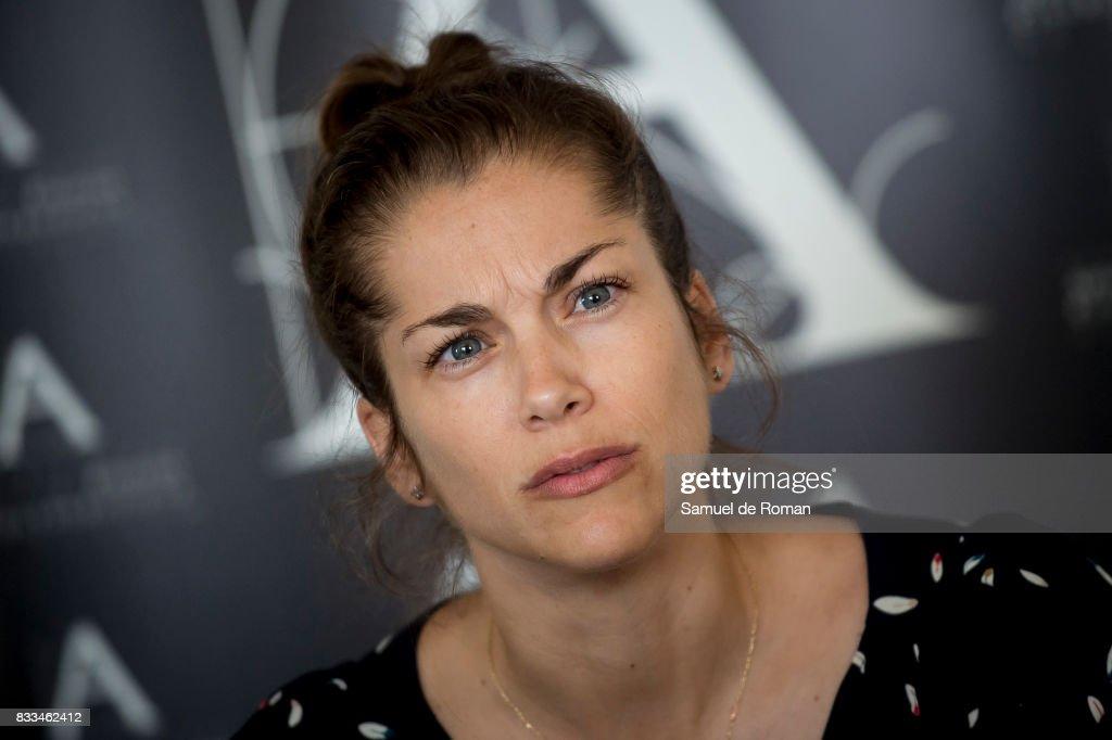 «Verano 1993« Executive Producer Maria Zamora during Spanish Cinema Academy Announces Pre Selection For Oscar Awards on August 17, 2017 in Madrid, Spain.