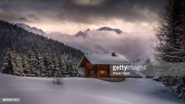 verbier - shack stock pictures, royalty-free photos & images