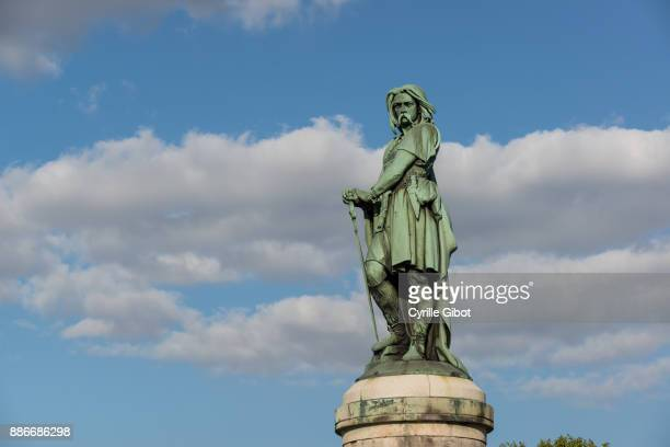 Vercingetorix memorial marking the Battle of Alesia (52 BC), Burgundy region, France