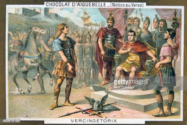 Vercingetorix surrenders to Julius Caesar c46 BC Gallic chieftain Vercingetorix was defeated and captured by Julius Caesar at Alesia Vercingetorix...