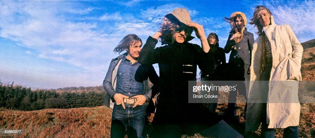 Mott The Hoople Group Shot 1971 : News Photo