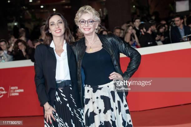 Verdiana Pettinari and Enrica Bonaccorti attend the 'Il Ladro di Giorni' red carpet during the 14th Rome Film Festival on October 20 2019 in Rome...