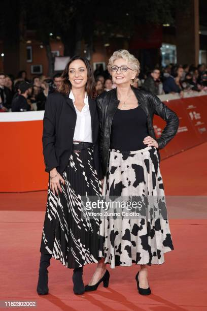 Verdiana Pettinari and Enrica Bonaccorti attend the Il Ladro Di Giorni red carpet during the 14th Rome Film Festival on October 20 2019 in Rome Italy
