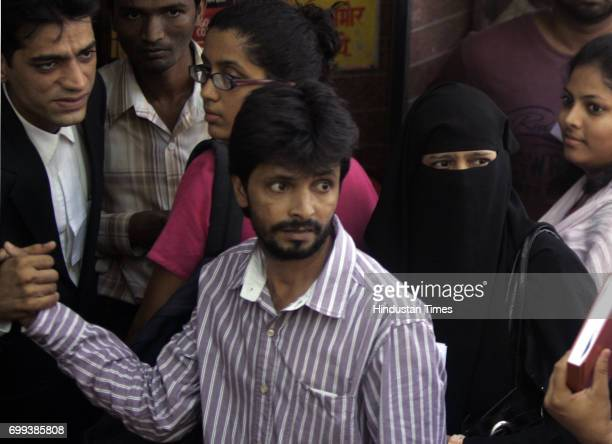 Verdict Fahim Ansari's wife Yasmin and his brother outside the court premises after he was acquitted by the court But Fahim still faces charges for...