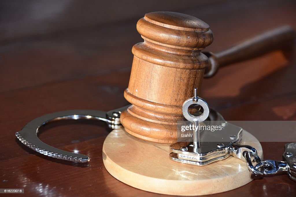 Verdict - Innocent : Stock Photo