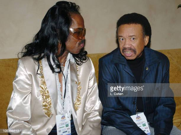 Verdine White and Maurice White of Earth Wind Fire