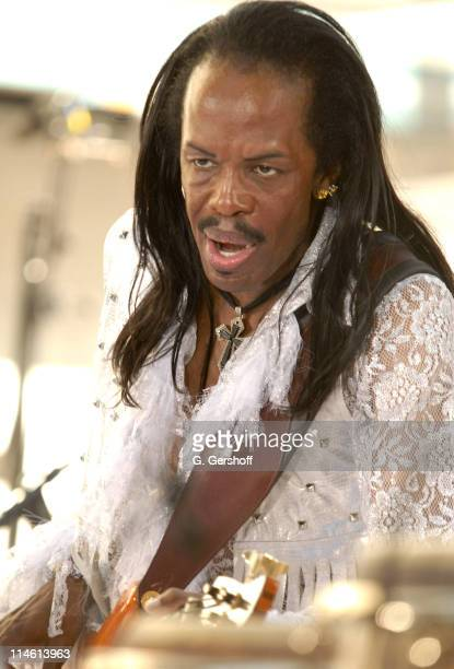 Verdine White during Earth Wind and Fire with Kelly Rowland Perform on NBC's The Today Show Summer Concert Series June 16 2006 at NBC Studios in New...