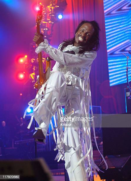 Verdine White of Earth Wind and Fire during The Andre Agassi Charitable Foundation's 10th Annual Grand Slam for Children Fundraiser Show at MGM Grand...
