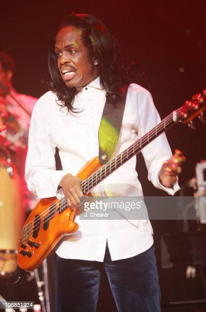 Verdine White of Earth Wind and Fire during Tsunami Benefit Concert and Launch Event for the WillIam Music Group at The Avalon in Hollywood at The...
