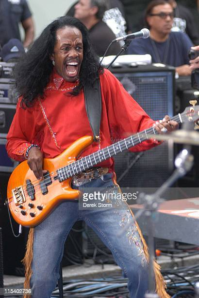Verdine White of Earth Wind Fire during Chicago and Earth Wind Fire Perform on the 2005 Today Show Summer Concert Series at NBC Studios Rockafeller...