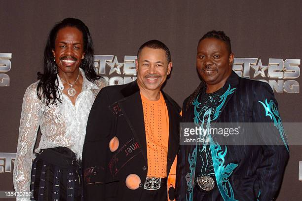 Verdine White, Ralph Johnson and Philip Bailey of Earth Wind and Fire at BET's 25th Anniversary premiering on Nov. 1 @ 9p.m. ET/PT