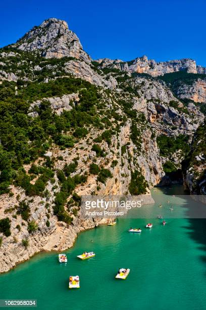 verdon gorge, provence, france - アルプドオートプロバンス県 ストックフォトと画像