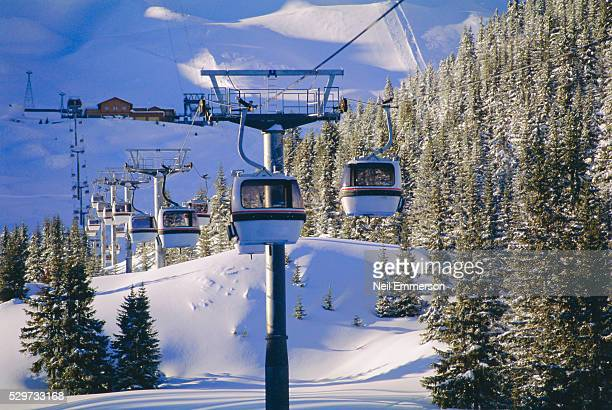 verdon lift, courchevel, france - courchevel stock pictures, royalty-free photos & images