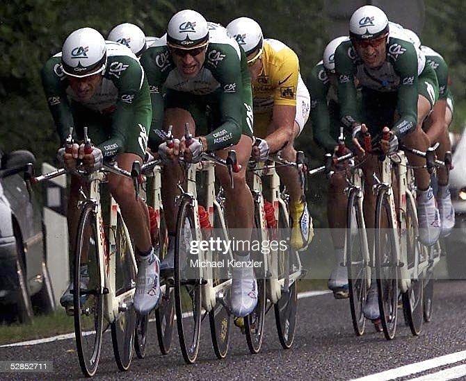 RADSPORT: TOUR DE FRANCE 2001, Verdun - Bar-Le-Duc : Photo d'actualité