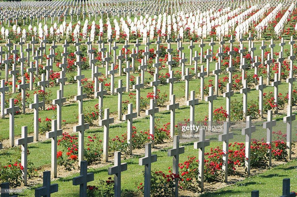 WWI Verdun Cimetière militaire en France : Photo