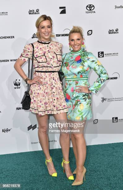 Verena Kerth and Alessandra Geissel attend the GreenTec Awards 2018 at ICM Munich on May 13 2018 in Munich Germany