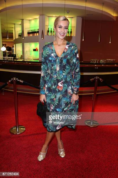 Verena Kerth attends the anniversary celebration of the musical 'Tarzan at Stage Metronom Theater on November 5 2017 in Oberhausen Germany