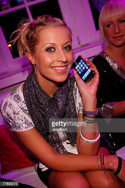 Verena Kerth attends the iPhone Launch Party at the RheinTriadem November 9, 2007 in Cologne, Germany.