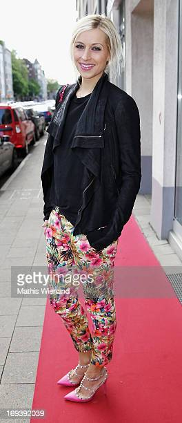 Verena Kerth attends the LUXUSLASHES Lounge Opening on May 23, 2013 in Dusseldorf, Germany.
